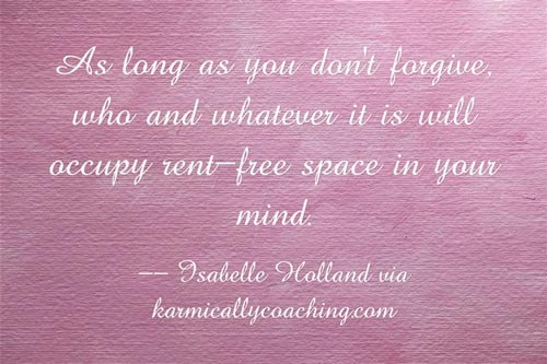 Quote on forgiveness by Isabelle Holland
