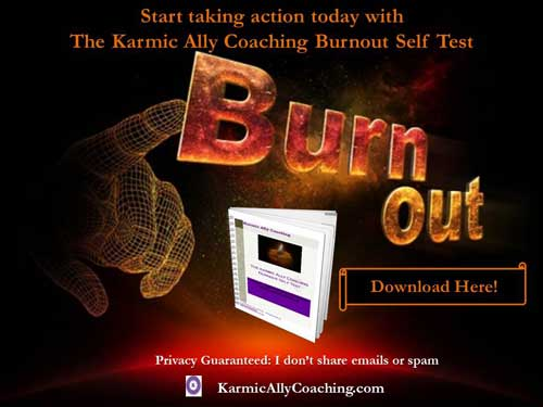 Karmic Ally Coaching Burnout Self Test