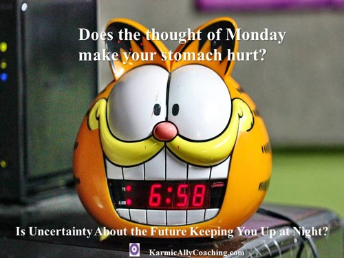 Does the thought of Monday at work make you fearful