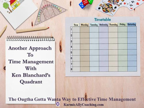 Blanchard's Quadrant Approach to Task Management