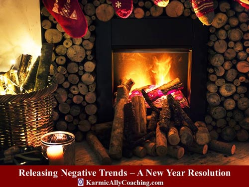 Release those negative thoughts and start with a positive mindset in the New Year