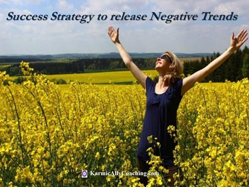 A simple strategy to release negative thoughts