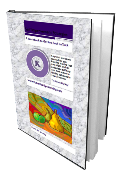 Free self-improvement strategies workbook - Karmic Ally Coaching