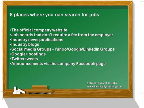 8 places to search for jobs