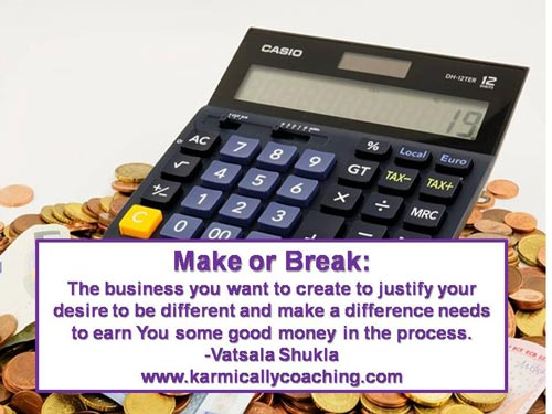 Make or break business tip