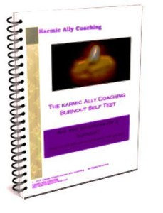 Karmic Ally Coaching Burnout Self Test cover