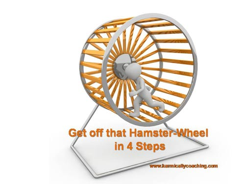 man on hamster-wheel