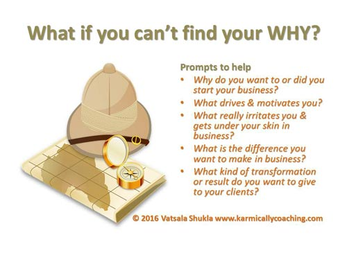 Search for your business WHY