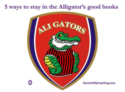 5 ways to stay in the alligator's good books