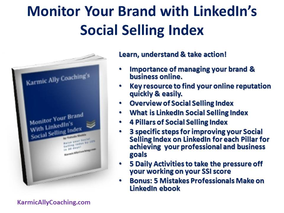 Monitor your brand with LinkedIn's SSI