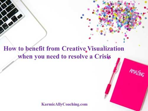How to benefit from creative visualization during crisis management