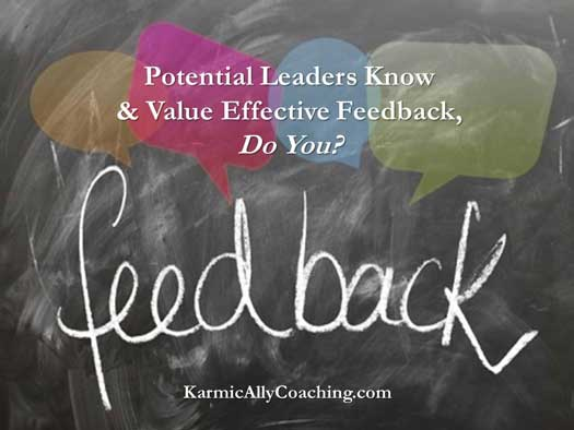 Potential Leaders Know and Value Effective Feedback