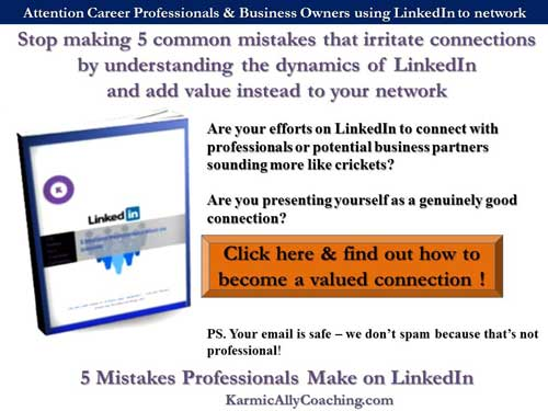 5 Mistakes Professionals Make on LinkedIn