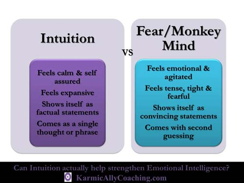 Intuition or Fear and Monkey Mind?