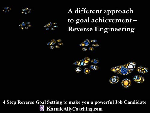 A different approach to goal achievement using reverse engineering