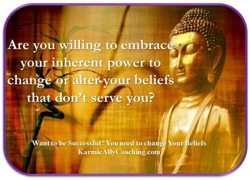 How to embrace your power to alter beliefs