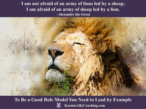 Alexander the Great quote on Leadership