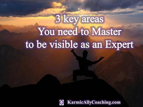 Experts need to master these 3 key areas to showcase their expertise