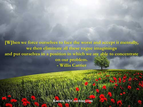 Willis Carrier quote on fear and solutions