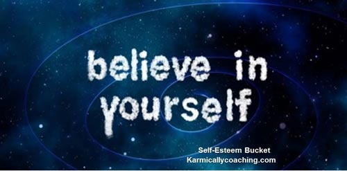 It's okay to have self-belief