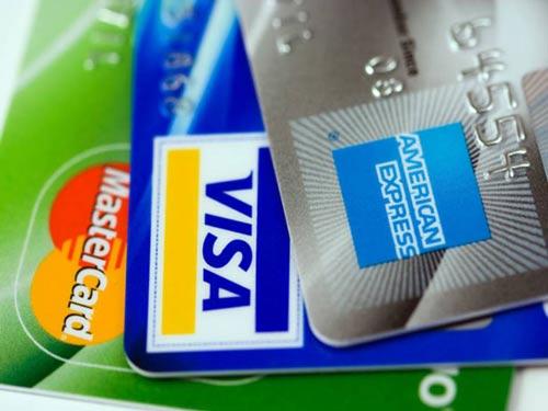 3 popular credit cards