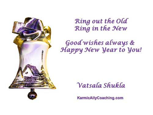 New Year Greeting from Karmic Ally Coaching