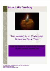 The Karmic Ally Coaching Burnout Self Test