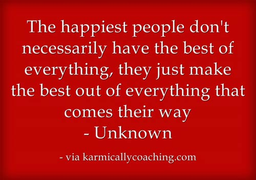 Happiest people habit