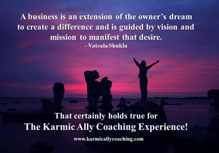 Karmic Ally Coaching's Vision and Mission
