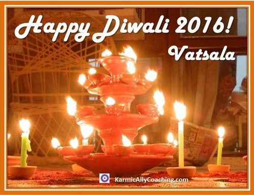Diwali Greetings Karmic Ally Coaching