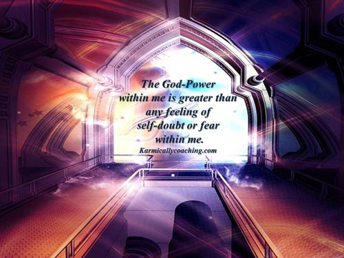 God Power is greater than any fear within me