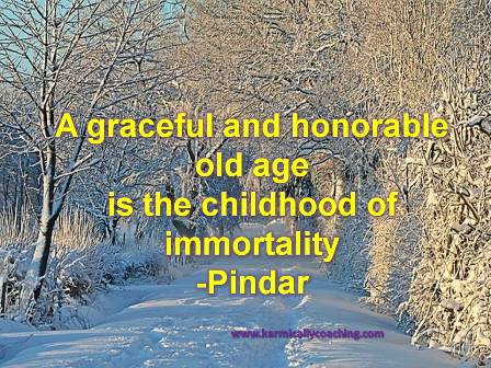 Old Age quote by Pindar