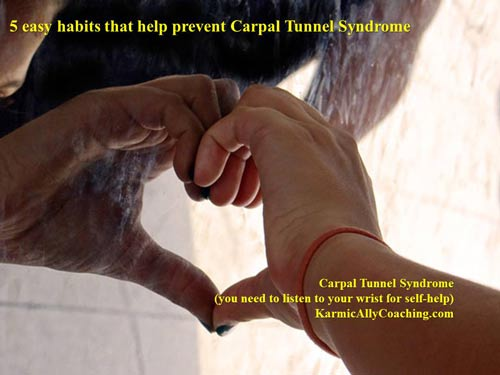 5 easy habits to prevent carpal tunnel syndrome