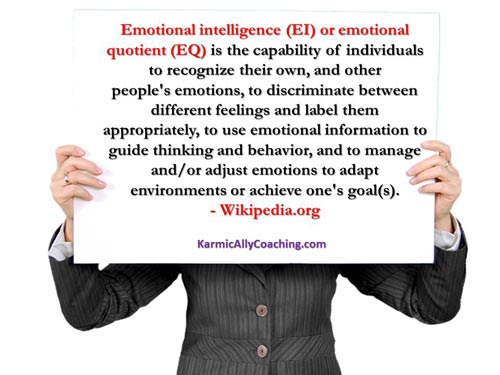 Wikipedia definition of Emotional Intelligence