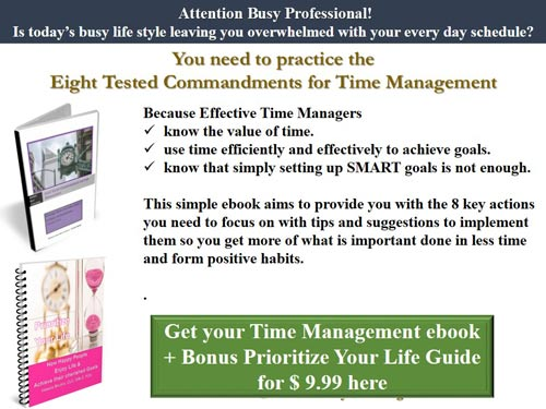 Time Commandments and Life Priority Bundle
