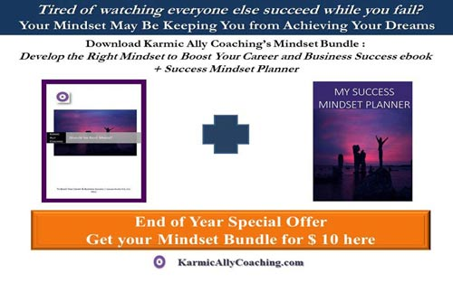 Karmic Ally Coaching's Success Growth Mindset Bundle