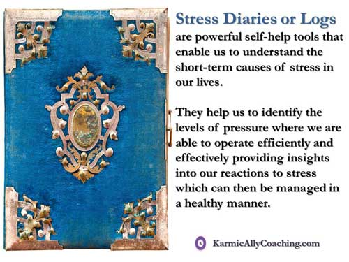 What is a Stress Diary or Log?