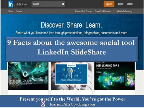 9 facts about the awesome social tool called LinkedIn SlideShare