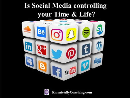 Is social media controlling your time and life