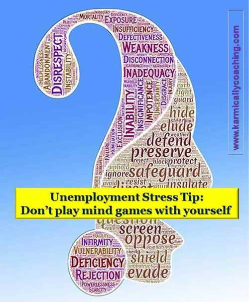 Stress management tip about self doubt