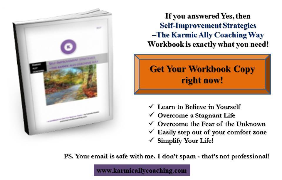 Self Improvement Strategies Workbook