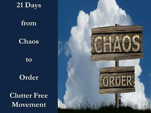 21 Days from Chaos to Order - Clutter Challenge