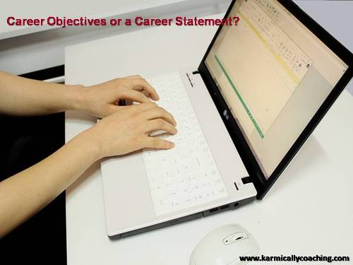 Career objective or statement in your Curriculum Vitae?