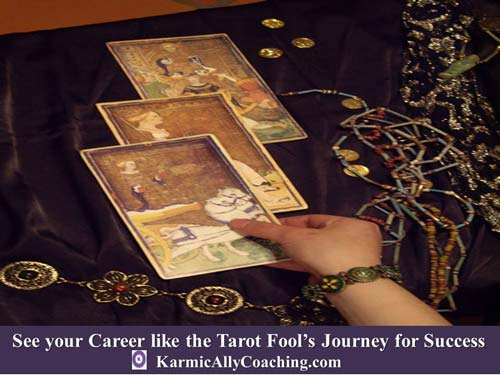 The Fool in the Tarot deck does not doubt his ability to succeed in Life