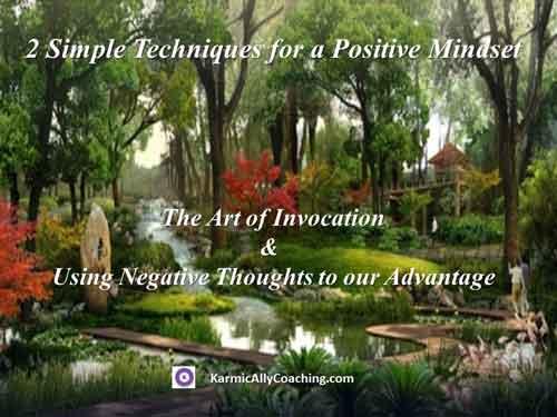 Positive mindset techniques