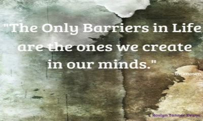 Osho quote on barriers we create