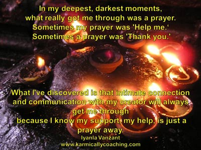 Quote on power of prayer