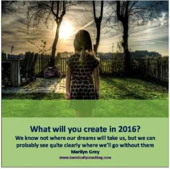 Create your dreams in 2016 Karmic Ally Coaching