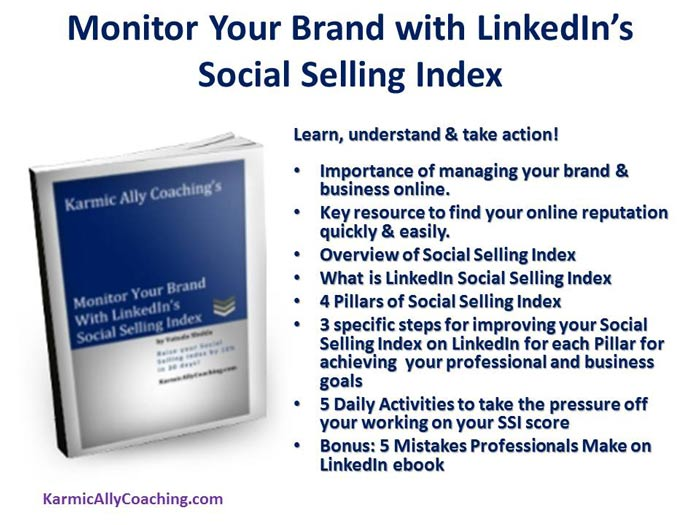 Monitor Your Brand with LinkedIn's Social Selling Index