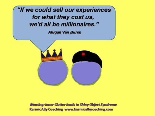 The cost of experience quote
